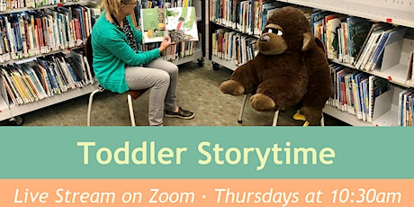 Toddler Storytime (Live Virtual Program) tickets