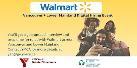 Walmart Digital Hiring Event tickets