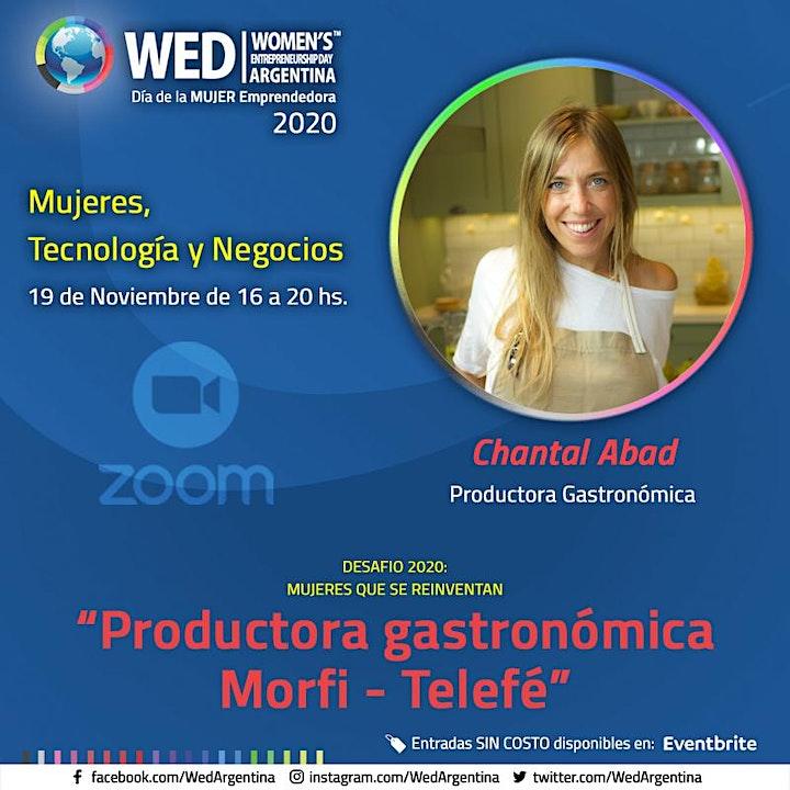 Imagen de WED 2020 - Mujeres, Tecnología y Negocios