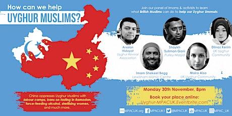 How Can We Help Uyghur Muslims? tickets