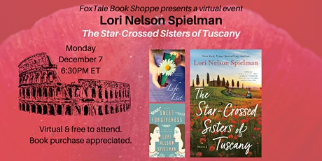 Lori  Nelson Spielman, The Star-Crossed Sisters of Tuscany tickets