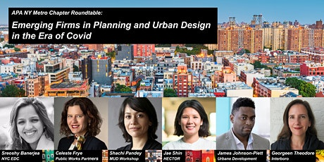 Emerging Firms in Planning and Urban Design in the Era of Covid tickets
