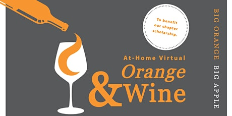 Orange & Wine Fundraiser – At-Home Virtual Tasting tickets