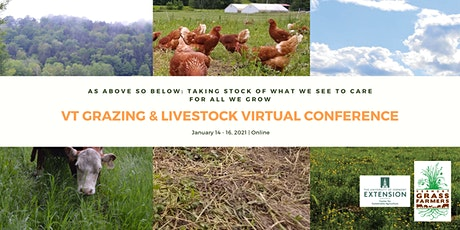 25th Annual Vermont Grazing and Livestock Conference - Virtual tickets