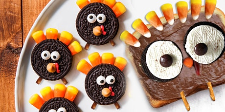 45min Turkey Tail  Sandwiches & Cookies Culinary Lesson @2PM (Ages 4+) tickets