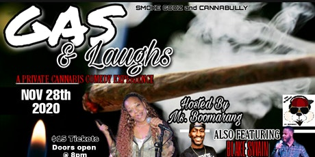 GAS & LAUGH'S  COMEDY SHOW tickets