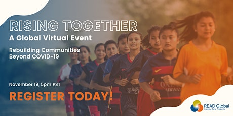 RISING TOGETHER - A READ Global Virtual Event tickets