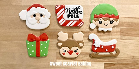 Christmas Adult Beginner Cookie Decorating Class