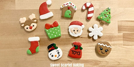 Christmas Minis Cookie Decorating Class