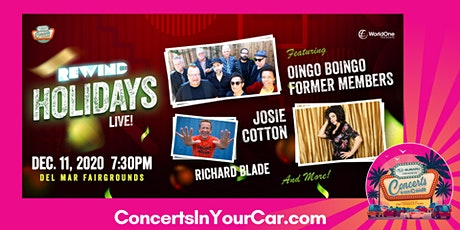 REWIND Holidays Live! Feat. Oingo Boingo Former Members and More!! tickets