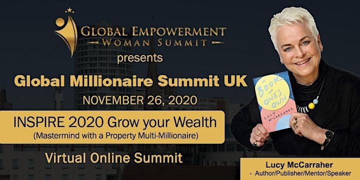 Global Millionaire Summit UK 2020 image