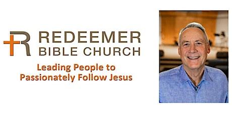 Pastor John Retirement Sunday tickets