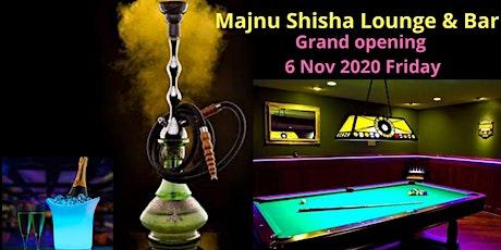Majnu Shisha Lounge & Bar Grand Opening tickets