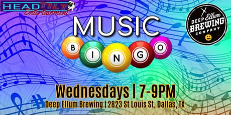 Music Bingo at Deep Ellum Brewing Company tickets