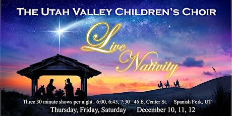 Spanish Fork Live Nativity tickets