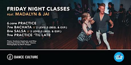 Friday Night Classes // Bachata & Salsa // Feat. Madalyn & Jai tickets