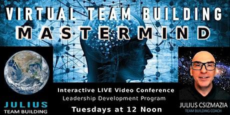 Virtual Team Building Mastermind tickets