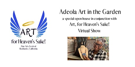 Adeola Art in the Garden for Art For Heaven's Sake 2020 tickets