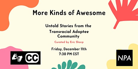 MKOA: Untold True Stories from the Transracial Adoptee Community tickets