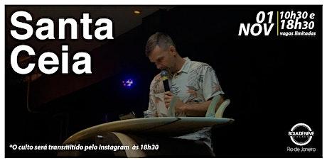 CULTO DE DOMINGO - 01/11/2020 ingressos