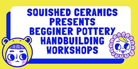 December 3 Week Wednesday Night Hand Building Pottery Work Shop tickets