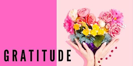 BOLD Goals Women's Circles Workshop - November theme 'Gratitude' tickets