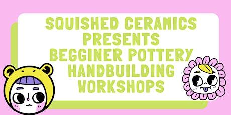 Janurary 3 Week Monday Night Hand Building Pottery Work Shop tickets