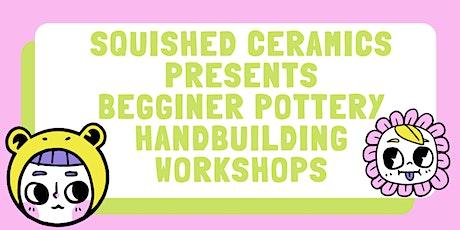 Janurary 3 Week Wednesday Night Hand Building Pottery Work Shop tickets