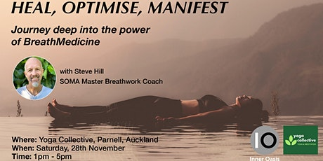 BreathMedicine Workshop - HEAL, OPTIMISE, MANIFEST tickets