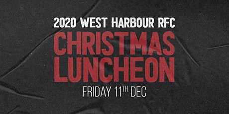 2020 West Harbour RFC Christmas Sports Luncheon tickets