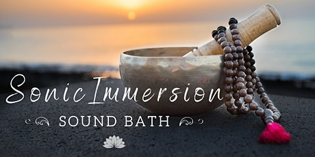 Sonic Immersion: 2hr Sound Bath tickets