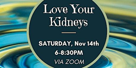 [ZOOM] Love Your Kidneys - Kundalini Yoga, Qi Gong, & Sound Bath tickets