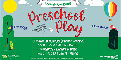 Raumati/Summer Fun Preschool Play tickets