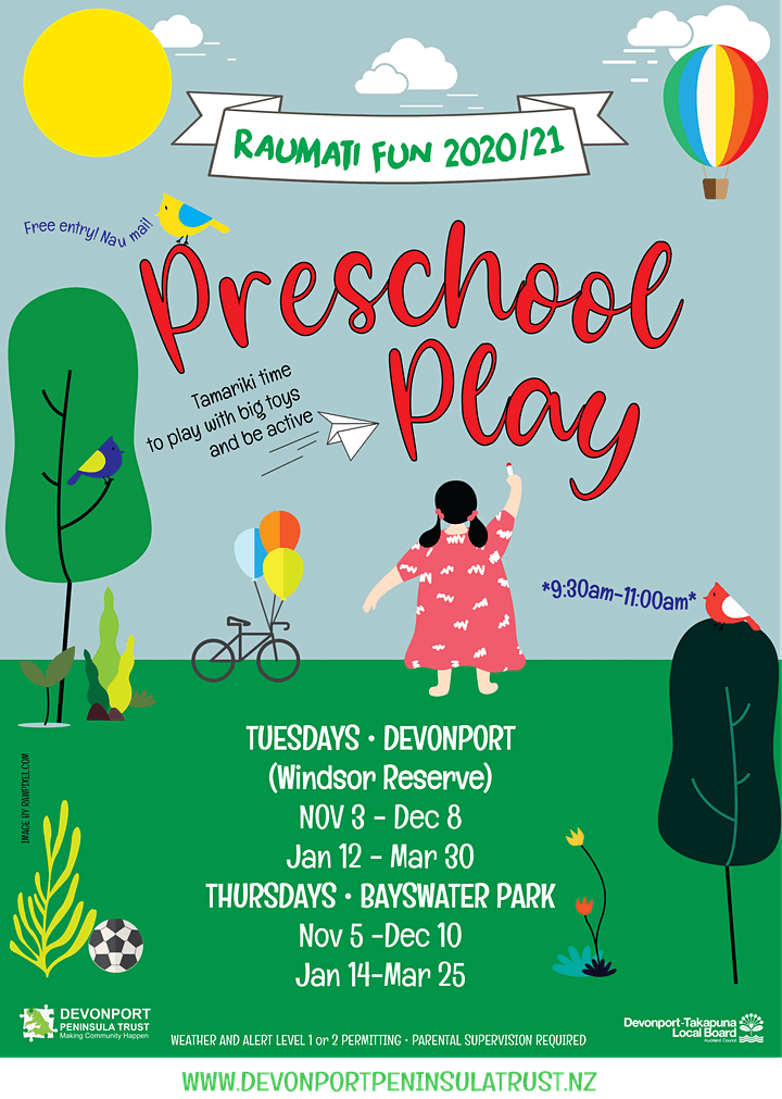 Raumati/Summer Fun Preschool Play image