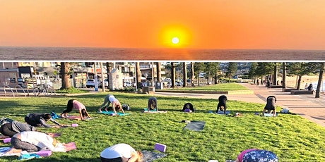 Sunrise Yoga  at Dee Why Beach $15 tickets