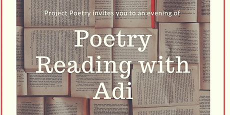 Poetry Reading and discussion tickets