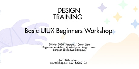 UX Design Training for Beginners tickets