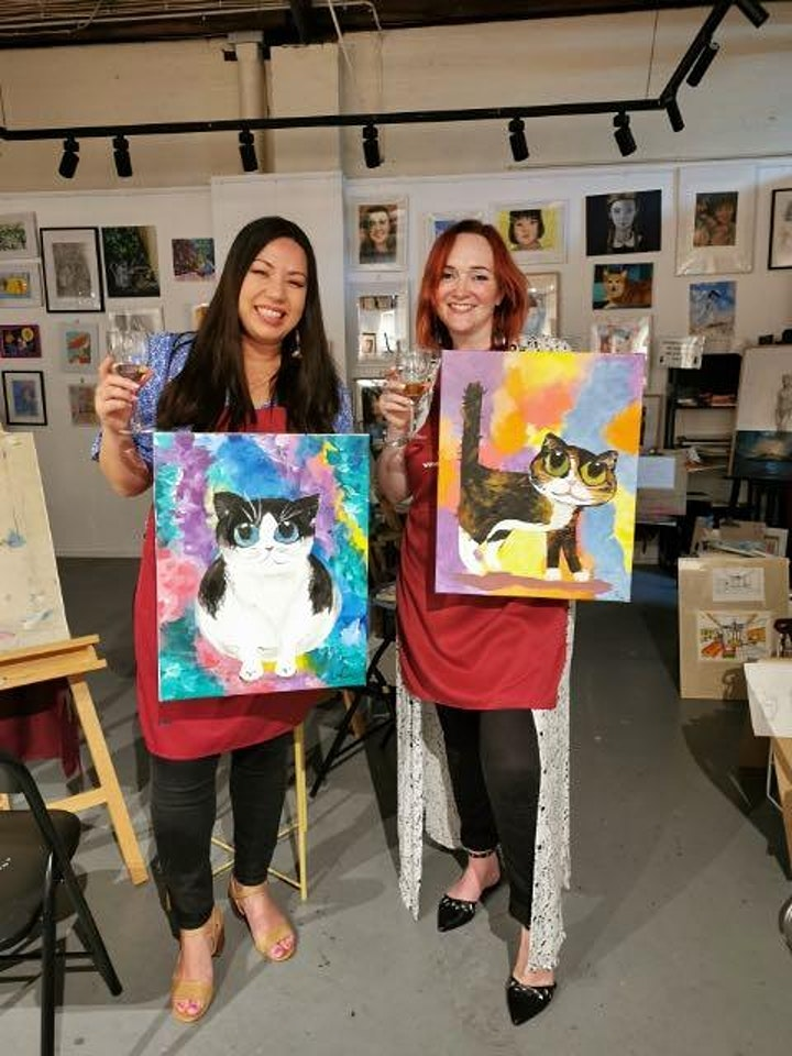 Paint and Sip Party image