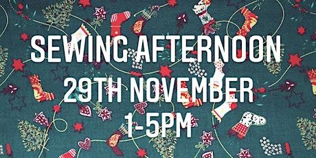 Bath Sews Virtual Christmas Sewing Afternoon tickets