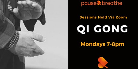Qi Gong - via Zoom tickets