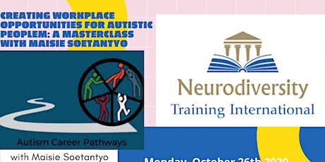 Workplace Opportunities For Autistic People - A Masterclass. tickets