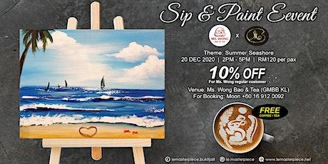 Sip and Paint: Summer Seashore (Sunday) tickets