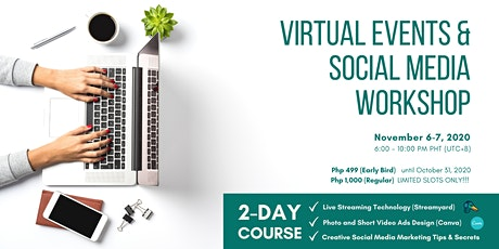2-Day Virtual Events & Social Media Workshop tickets