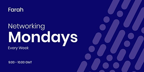 Networking Mondays - Online Business Networking tickets