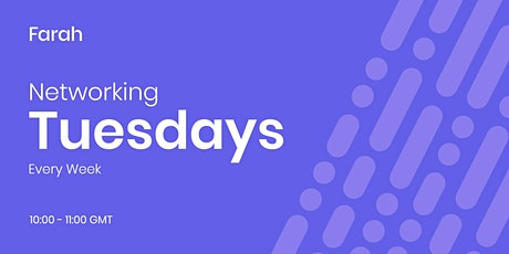 Networking Tuesdays - Online Business Networking tickets