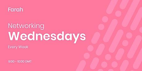 Networking Wednesdays - Online Business Networking tickets