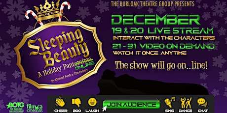 Sleeping Beauty A Holiday Pantomime  (Online) tickets