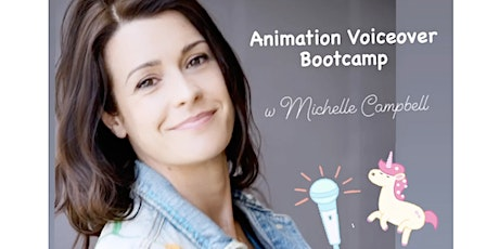 Voice Acting for Animation Bootcamp tickets