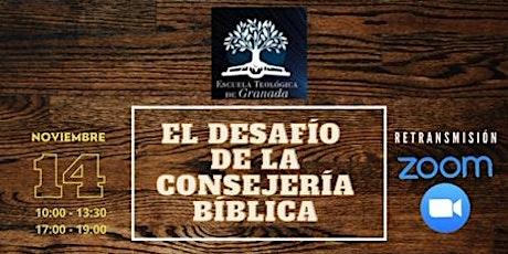 Los desafíos de la consejería bíblica entradas