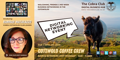 Cobra Cotswolds - Business Networking Event - Gloucestershire, Cotswolds tickets